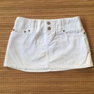 Abercrombie Vintage Cord Mini size 00